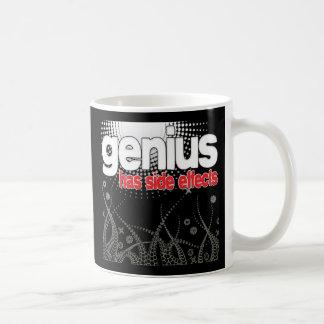 Genius Has Side Effects Classic White Coffee Mug