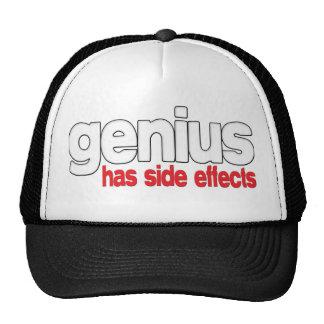 Genius Has Side Effects Trucker Hat
