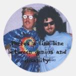 Genius Insanity Sticker (Small)