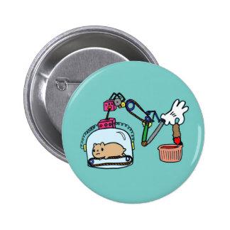 Genius Invention Pinback Button
