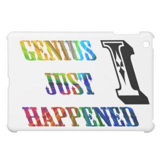 Genius just happened. cover for the iPad mini