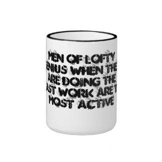 Genius Men Ringer Mug