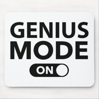 Genius Mode On Mouse Pad