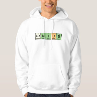Genius - Periodic Table of Elements Products Hoodie