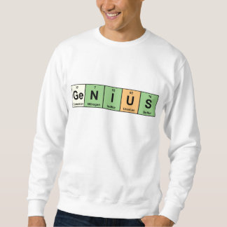 Genius - Periodic Table of Elements Products Sweatshirt