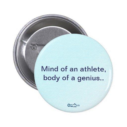 Genius Pinback Button