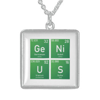 Genius PSE Sterling Silver Necklace