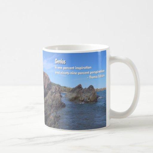 Genius Quote Mug