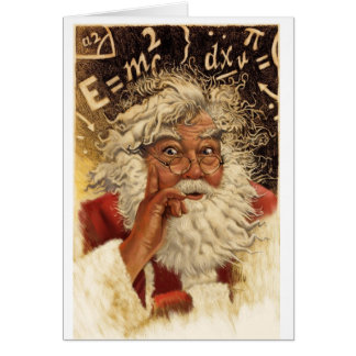 Genius Santa Card