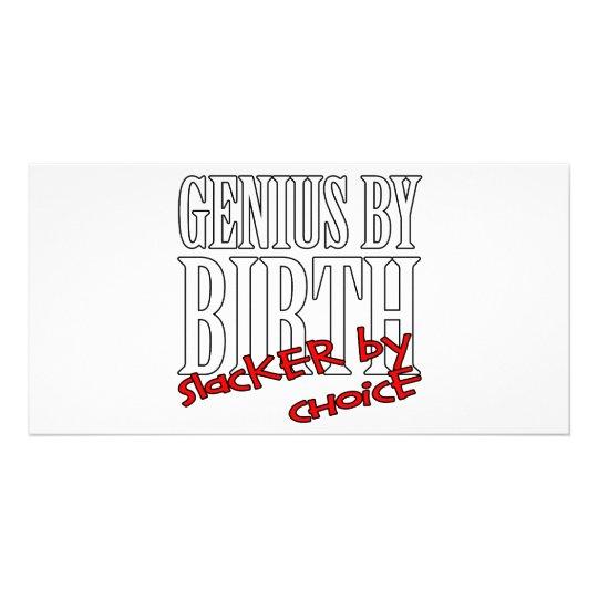 Genius Slacker Card