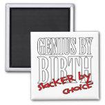 Genius Slacker Fridge Magnets