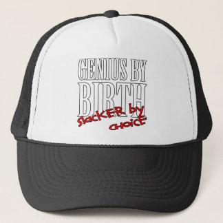 Genius Slacker Trucker Hat