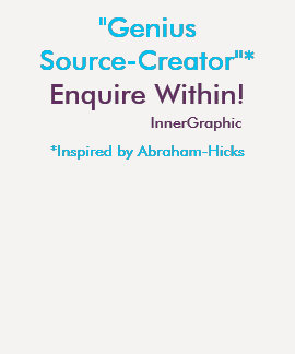 Genius Source-Creator Enquire Within! T Shirts