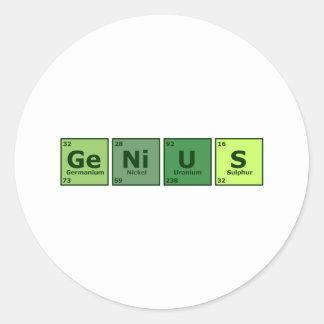 Genius Stickers