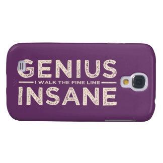 GENIUS VS INSANE custom HTC case