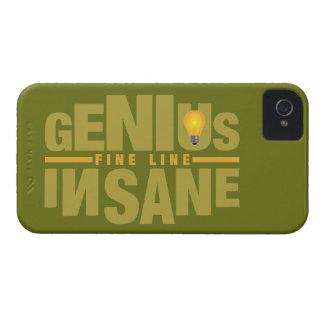 GENIUS VS INSANE custom iPhone case