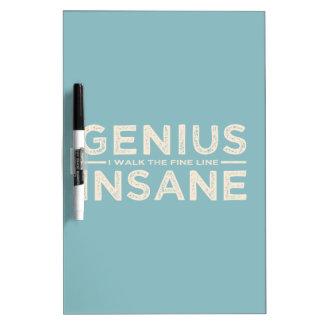 GENIUS VS INSANE custom message board