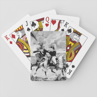 Genl. Taylor at the Battle of Resaca de la Palma_W Playing Cards