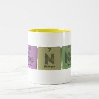 Genna as Germanium Nitrogen Sodium Two-Tone Coffee Mug