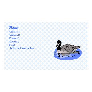 Genna Goose Business Cards
