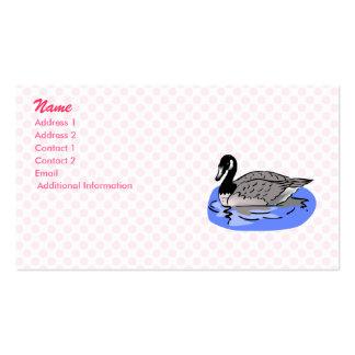Genna Goose Business Card Template