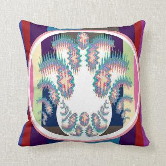 Gennie in a Bottle -  Zodiac Cancer Flare Design Throw Pillow