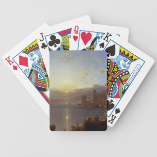 Genoa by Franz Richard Unterberger Bicycle Card Deck