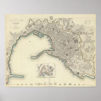 Genoa Genova Genes Print