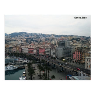 Genoa ,Italy card