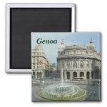 Genoa italy magnet