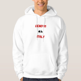 Genoa, Italy Scooter Hoodie