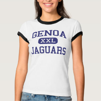 Genoa Jaguars Middle School Westerville Ohio T-Shirt