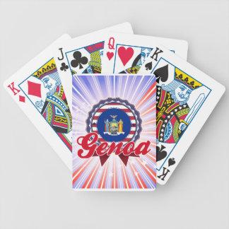 Genoa, NY Poker Deck