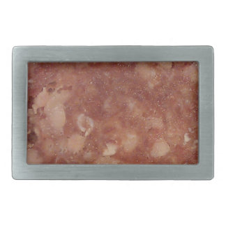 Genoa Salami Texture Rectangular Belt Buckle