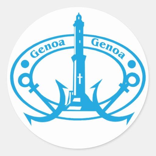 Genoa Stamp Sticker
