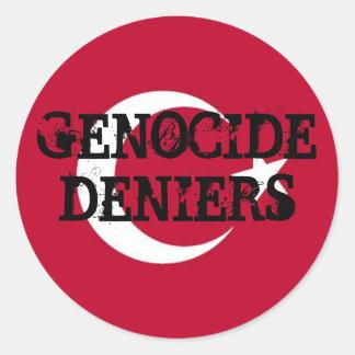 Genocide Deniers Sticker