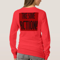 Genocide Red Long-Sleeve Tee