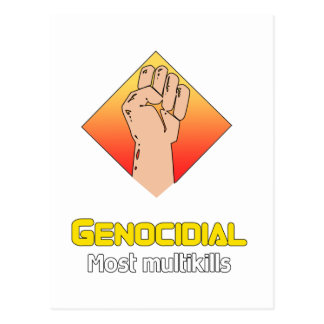 Genocidial Postcard