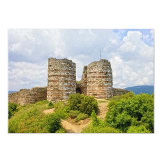 Genoese Castle in Turkey Card