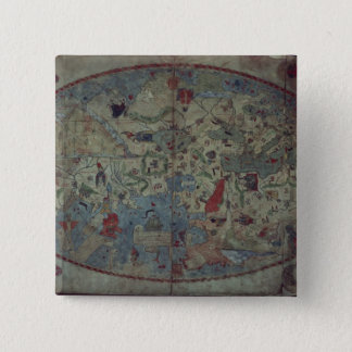 Genoese world map, designed by Toscanelli Button