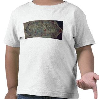 Genoese world map, designed by Toscanelli T-shirts