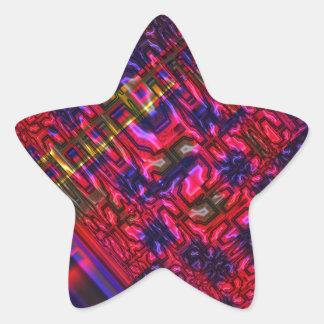 Genoma Pegatina En Forma De Estrella