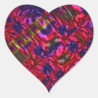 Genome Heart Sticker