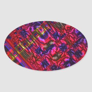 Genome Oval Sticker