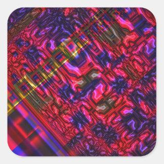 Genome Square Sticker