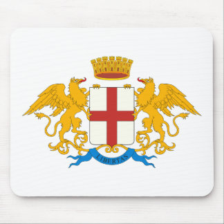 Genova Coat of Arms Mousepad