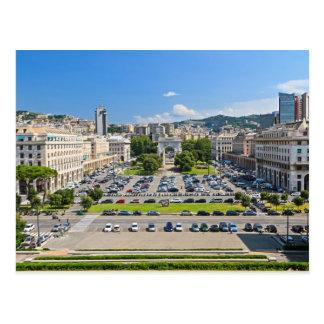 Génova - della Vittoria de la plaza Postal