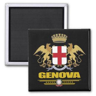 Genova (Genoa) 2 Inch Square Magnet