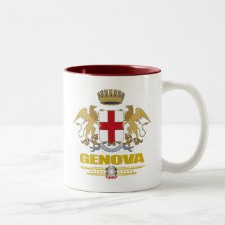 Genova (Genoa) Two-Tone Coffee Mug