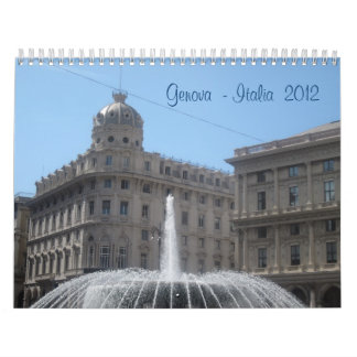 Genova - Italia 2012 Calendar